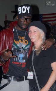 Supermodel Sam Sarpong and Producer Pepper Jay