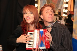 Judy Tenuta with Brett Walkow