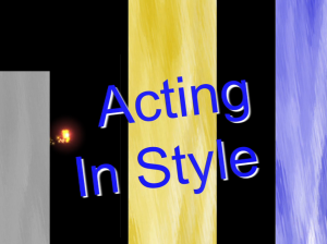 Acting In Style Graphic Logo