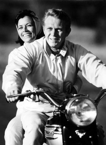 Neile Adams McQueen and Steve McQueen