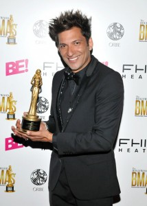 Martino Cartier of Martino Cartier Salon received the #1 Celebrity Artist for Charity Award at The Third Annual Hollywood