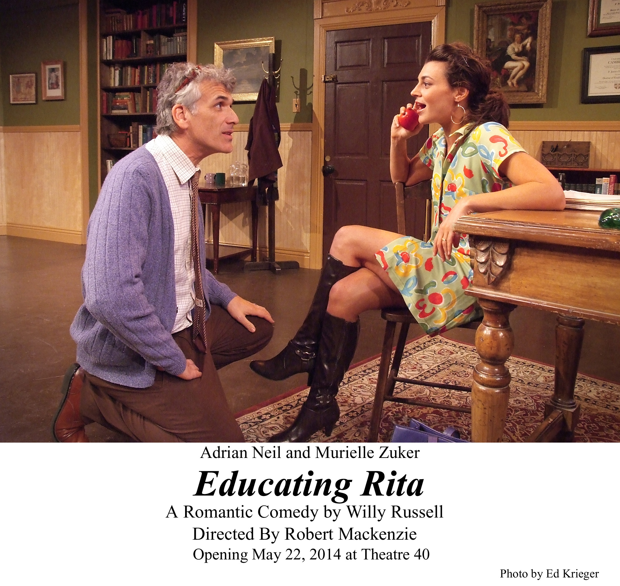 different worlds educating rita vs Dead poets society director: peter weir  they are not that different than any of you, are they  the educating rita workbook,.