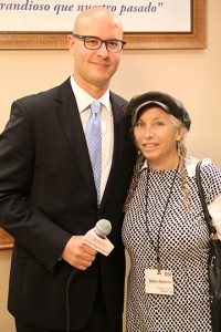 Yaki Lopez, Consul for Political Affairs / Israel and G-d in Hollywood producer Pepper Jay