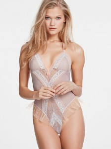 Ruffle Lace Teddy by Victoria's Secret