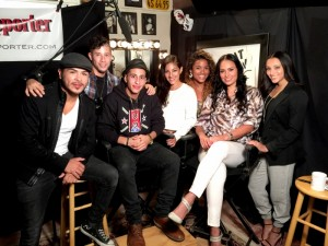 Actors and Dancers from East Los High on ActorsE Chat Show