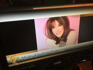 Kate Linder on The EZ Show