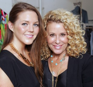 Acting in Style host Allison McNamara with Stylist Wendy Shaw