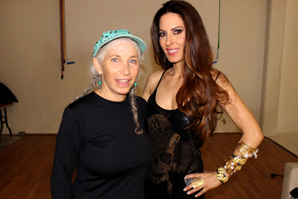 Models BFF producer Pepper Jay and Kerri Kasem