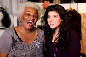 Barbara Morrison and Sidebeat Music Host Kristina Nikols