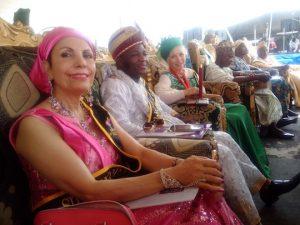 Munni Irone, Emperor-Alafia Adeoba Amitabha Shalom. Pepper Jay