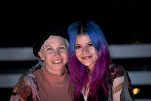 Pepper Jay and Allison Iraheta